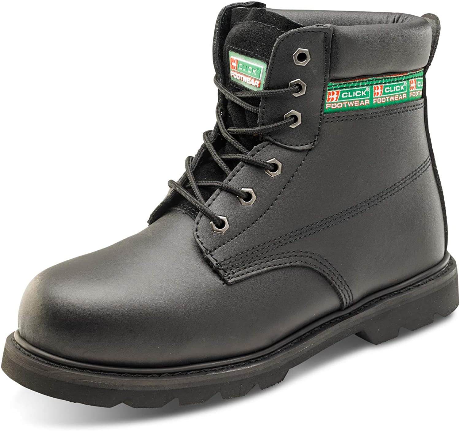 PDL Safety Footwear WELT Black Boot shoes Sizes 6-12 HGGWBMSBLBS