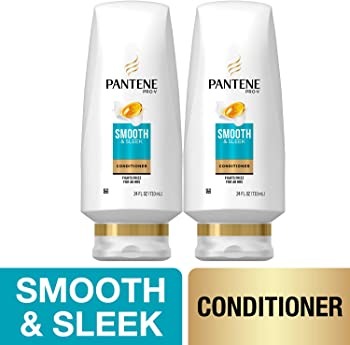 2-Pack Pantene Sulfate Free Pro-V Smooth and Sleek Conditioner