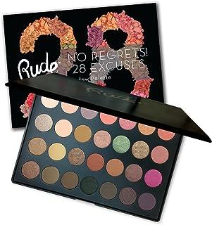 RUDE No Regrets! 28 Excuses Eyeshadow Palette - Virgo (並行輸入品)