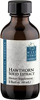 Wise Woman Herbals – Hawthorn Berry Extract Liquid - Extra Strength 4:1 Extract - Alcohol-Free - for Cardio...