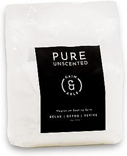 Caim & Able Epsom Salts - Pure Unscented 1.8 kg Bag - Magnesium Sulfate Sitz Bath Salts Soak - Made In Australia