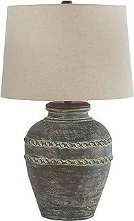 Ashley Furniture Signature Design - Mairead Table Lamp, Green
