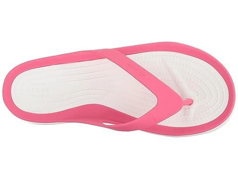 WhiteParadise Swiftwater Flip WhiteSmoke WhiteTropical Pink White Teal BlackBlack Crocs Black Pearl 4IxdqxRZ