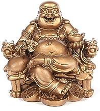 Standbeeld Sculptuur Decoratie Standbeelden Chinese feng shui lachend Boeddhabeeld decoratie geld Maitreya sculptuur tuin ...