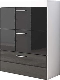 muebles bonitos Cómoda Dalia en Color Negro