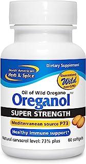 North American Herb & Spice Super Strength Oreganol P73-60 Softgels - Immune System Support - Vegan Friendly Wild Oregano ...