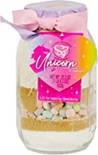 Sisters Gourmet Unicorn Sugar Cookie Mix With Marshmallows - Qt. Sized Ball Mason Jar - Makes Up To 3 Dozen Cookies Net Wt. 22.3 Oz - Cookies In A Jar, Unicorn Cookie Mix, Sugar Cookie Mix