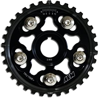 AEM 23-802BK Black Tru-Time Adjustable Cam Gear