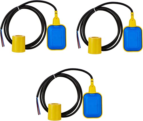 SCIENTIFIC DEVICES Float Level Switch 2 M Cable Length - Pack of 3