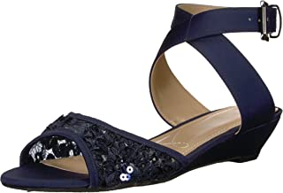 J.Renee Womens Belden Open Toe Special Occasion Strappy Sandals