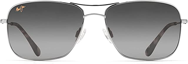 Maui Jim Sunglasses | Wiki Wiki HS246 | Aviator Frame, Polarized Lenses, with Patented PolarizedPlus2 Lens Technology