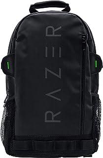 حقيبة ظهر رازر روج v2 مقاس 13.3 بوصة للألعاب المحمولة: خارجية مقاومة للتمزق والماء - جيب جانبي شبكي لزجاجات المياه - مقصور...