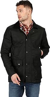 Regatta Men's Country Wax Water Repellent Corduroy Collar Trim Wax Jacket Jacket