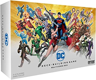 dc deck building game multiverse box