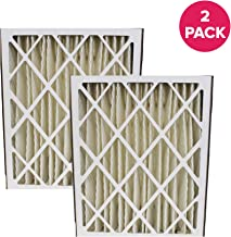 Think Crucial Replacement Air Filter – Compatible with Carrier Part # MF2025, M8-1056 Furnace Air Filter, Fits Most Carrier, Merv 5-Inch Box Filter Sized 20x25x5 – Bulk (2 Pack)