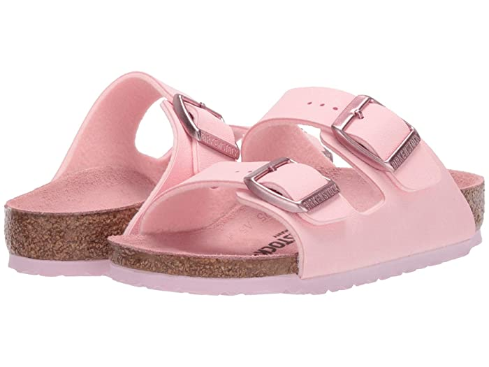 Birkenstock Kids  Arizona (Toddler/Little Kid/Big Kid) (Rose Birko-Flortm) Girls Shoes