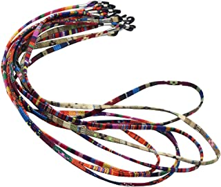 FITYLE 5pcs Multicolor Sunglasses Neck Cord Eyeglass Strap Lanyard Holder Chain