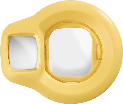 Fujifilm Instax Mini 8 Selfie Objektiv Gelb Kamera