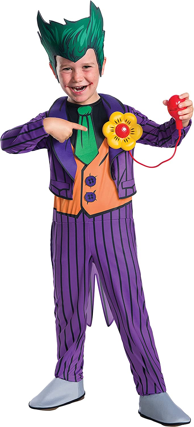 Rubie's Costume Boys Mail order DC Comics Joker The Inventory cleanup selling sale Small Deluxe