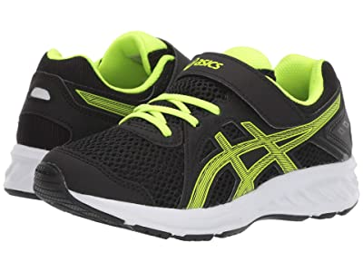 ASICS Kids Jolt 2 PS (Toddler/Little Kid) (Black/Safety Yellow) Boys Shoes