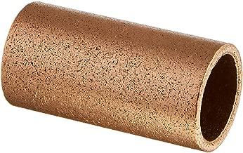 Bunting Bearings ECOP081020 ECO Oiled Sleeve (Plain) Bearing, Powdered Metal, SAE 841, 1/2