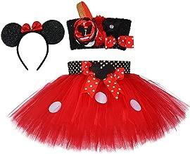 Tutu Dreams 1st 2nd 3rd 4th 5th 6th Birthday Outfit Girls 3pcs Polka Dots Tutu with Headband Set