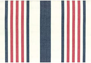 Moda Fabrics Picnic Point Tea Toweling 16 Inch Wide Blue Red Wide