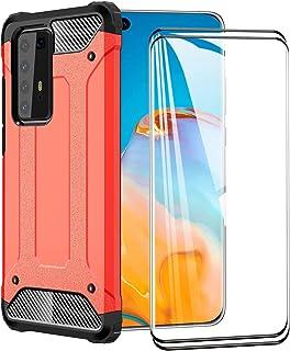 FANFO® Funda para Huawei P40 Pro, protección contra Golpes de TPU + PC Resistente a arañazos (Doble Capa) Carcasa para Hua...