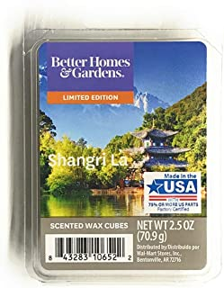 Better Homes & Gardens Scented Wax Cubes, 2.5 oz (Shangri La, 2.5 Oz)