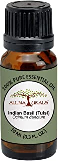 All Naturals Tulsi Essential Oil (Holy Basil) Spiritual Aroma,100% Pure - 15 ML