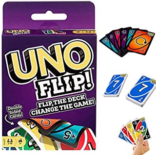 YIAI BTS UNO Cards Game Get Wild Phase 10 Skip Bo Dos UNO Flip Photo Card Set Playing Card Decks Game (Flip), Free Size