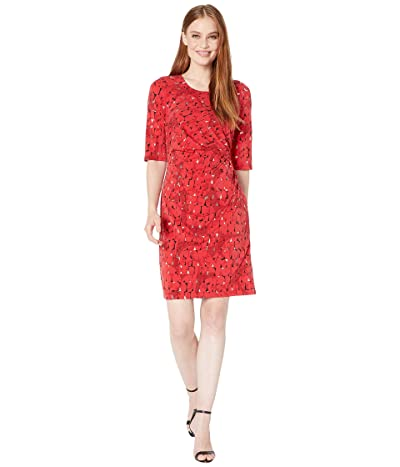 NIC+ZOE Stony Path Drape Dress (Multi) Women