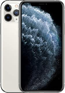 Apple iPhone 11 Pro With facetime Physical Dual SIM -  256GB, 4G, LTE, Silver, International Version