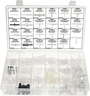 SWORDFISH 60850-115pc Vacuum Tee Connector Assortment, 23 Sizes