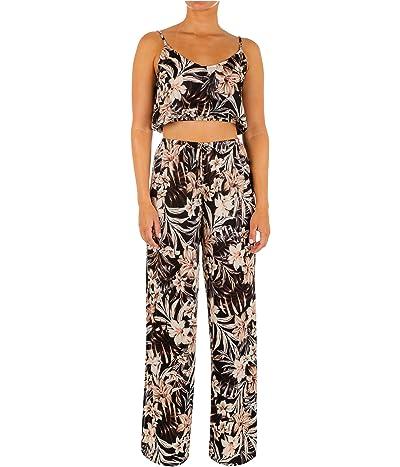 Hurley Hawaiiana Side Slit Pants Cover-Up
