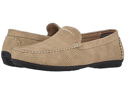 Stacy Adams Cirrus Moc Toe Slip-On Loafer (Stone) Men