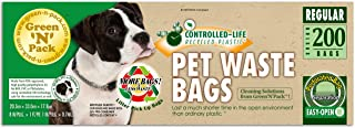 Green 'N' Pack Dog Waste Litter Bags for Pantries and to Refill Pet Waste Stations