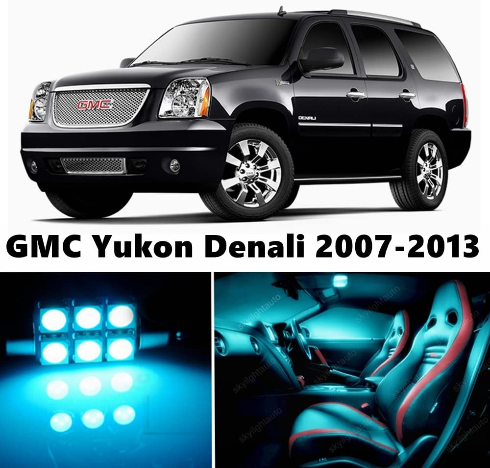 skylightauto 17pcs LED Premium ICE D Package Light Interior Very popular Excellence Blue