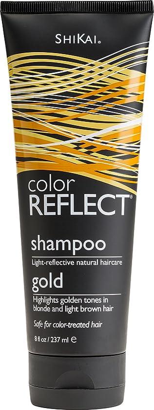 露骨な見分ける気分Shikai: Color Reflect Gold Shampoo, 8 oz by ShiKai