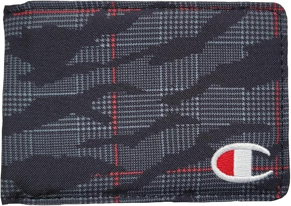 Champion Transmitter Bifold Wallet Black/Red One Size - CM9-0799
