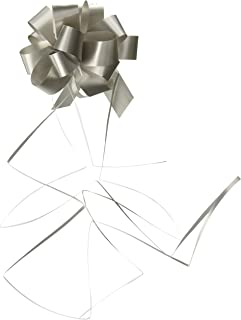 "Forum Novelties 4"" Pull Bow, Silver"