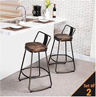 Best bar stools with padded backs Reviews