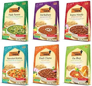 Best Kitchens of India Ready to Eat Dinner Variety Pack, 10-Ounces (Pack of 6) Review