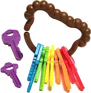 Baby Keys Montessori Toys for Toddlers - Toy Keys,...