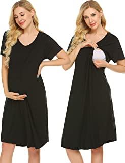 3 in 1 Delivery/Labor/Nursing Nightgown Women's Maternity...