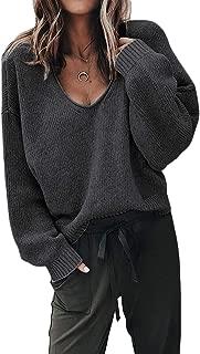 SAMPEEL Women's Casual Solid T Shirts Twist Knot Tunics...