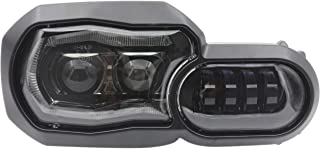 LED Headlight Assembly with DRL Compatible with BMW f800gs f800gs adventure f700gs f650gs f800r
