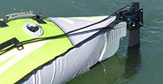 Advanced Elements Unisex Avanzada Trak Kayak Kit de timón, Negro, un tamaño