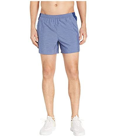 Nike Challenger Shorts 5 BF (Blue Void/Blue Void/Heather/Reflective Silver) Men