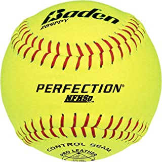 Baden Perfection Game Softballs (NFHS Approved)